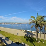 Mission Bay California Bay Side View